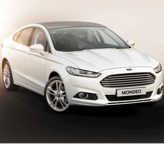 Výkonný Ford Mondeo
