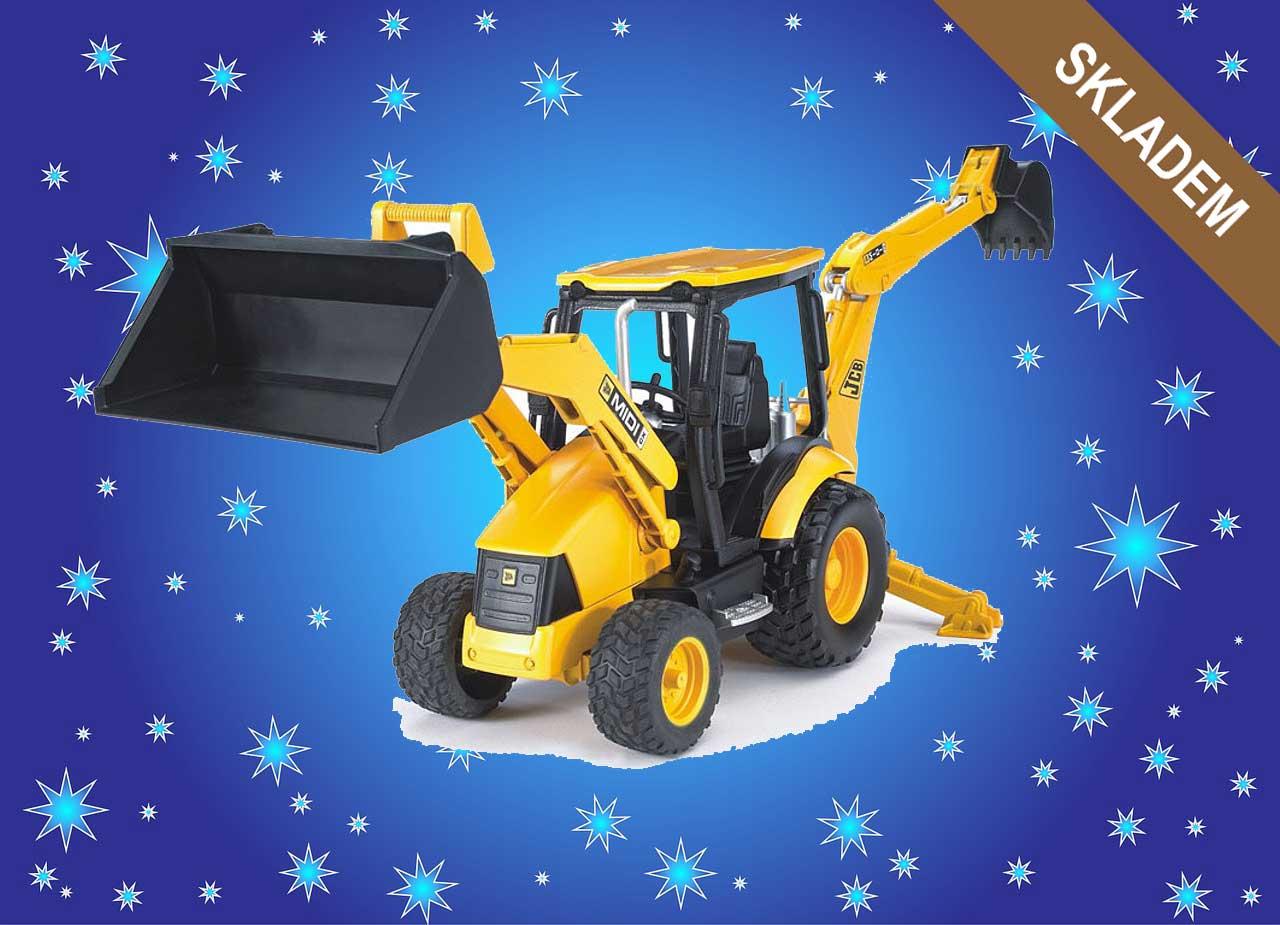 Modely hraček - traktor