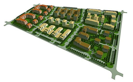 Architektonická kancelář, návrhy, urbanistické studie, územní plány obcí