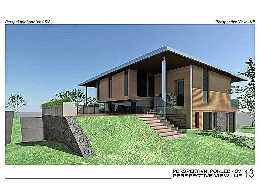 Projektování bytových staveb, rodinných domů, architektonická kancelář Praha