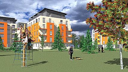 Ing. arch. Lubomír Hromádko, vyhotovení návrhu a projektu pozemních staveb