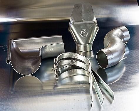 Klempířství, výroba a montáž klempířských prvků, žlaby, svody, opláštění