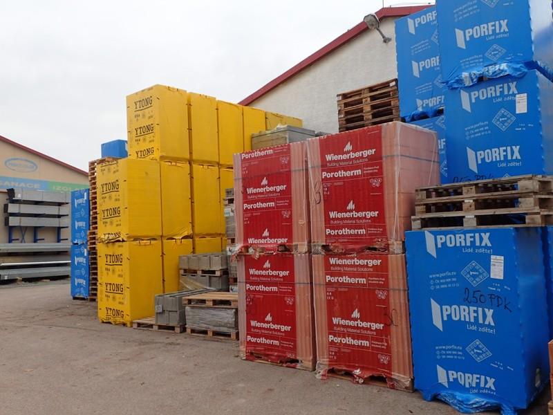 Velkoobchod stavebního materiálu Pardubice