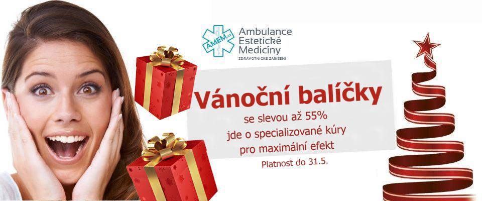Vánoční permanentka se slevou, dárkový certifikát na kosmetické služby, ošetření dle výběru