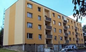 Zateplení bytového domu v Praze