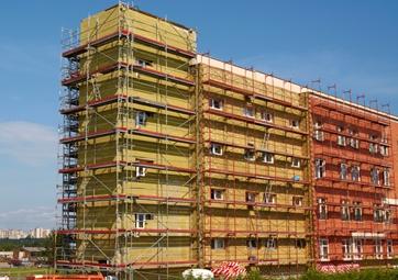 Zateplení obvodových plášťů budov