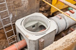 Systém vnitřní kanalizace Praha – odvedení odpadních vod z budovy ke kanalizační přípojce