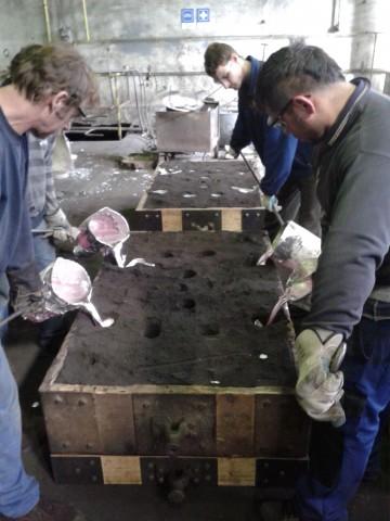 Slévárna hliníku, výroba hliníkových odlitků, technologie odlévání hliníku do písku a kokil