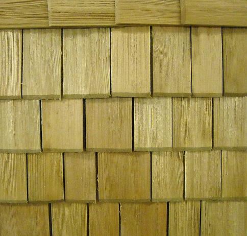 Dřevěné šindele ze standardních i exotických dřevin, Dačice, Jemnice