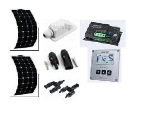 Příslušenství, solární panely, vysokokapacitní baterie pro karavany, obytné automobily - prodej, montáž, servis