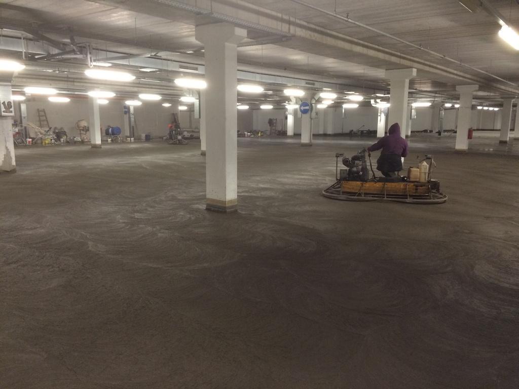 Sanace betonových podlah a svislých konstrukcí