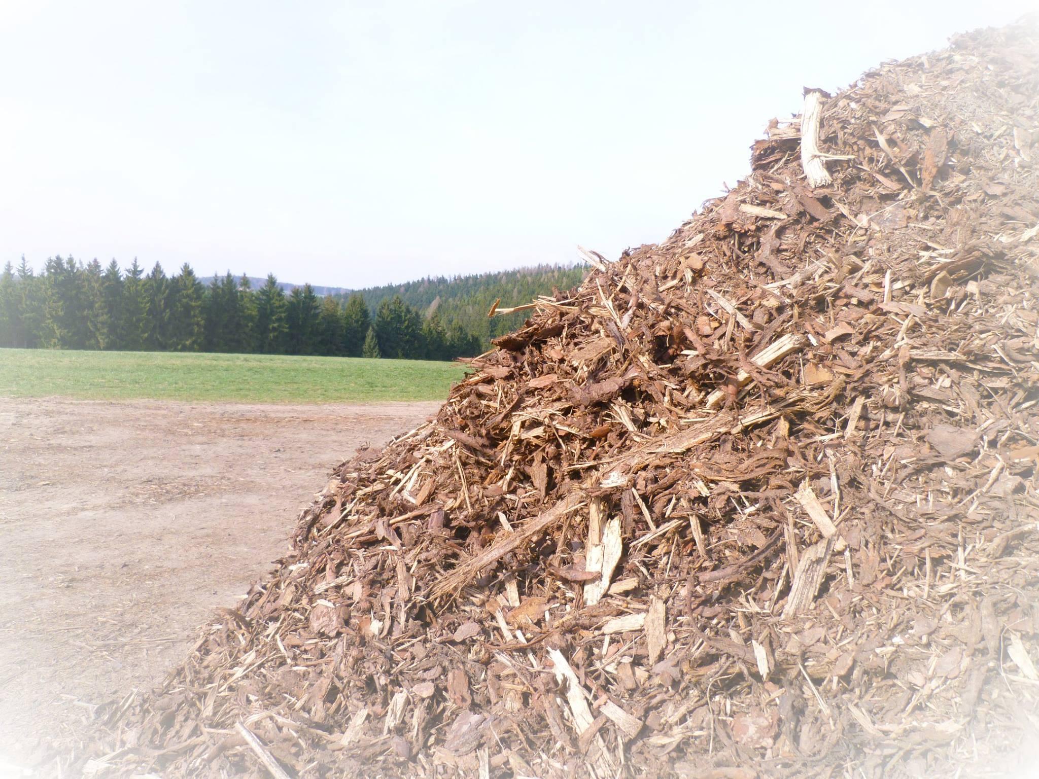 Prodej mulčovací kůry, vývoz klestu či výkup dřevních odpadů
