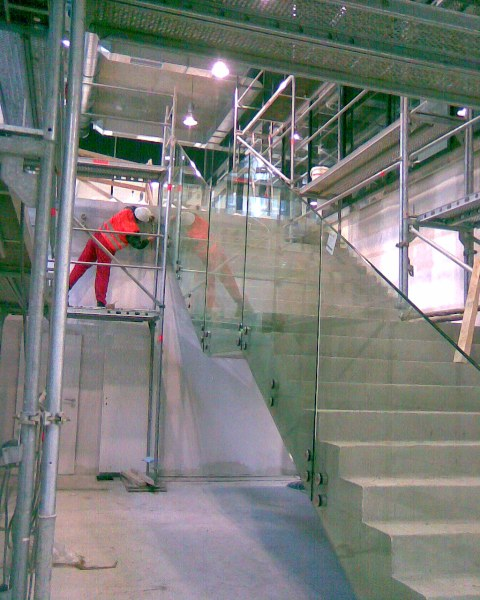 Výroba skleněného zábradlí Ostrava, Vratimov