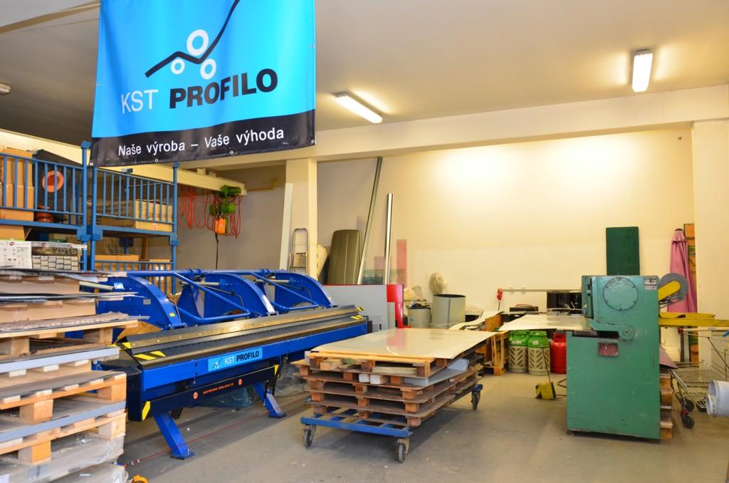 Klempířství - zakázková výroba profilů z plechů - chráněné pracoviště