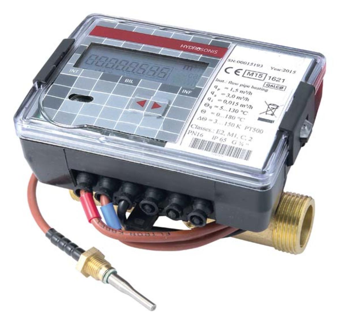 Ultrazvukový kompaktní měřiče tepla SMARTm UKMT