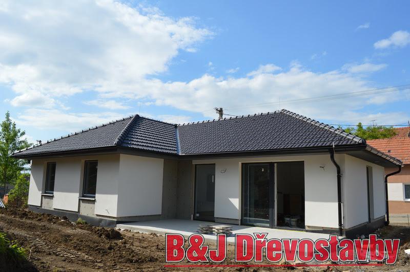 Dřevostavba Ostrožská Nová Ves - levný nízkoenergetický dům