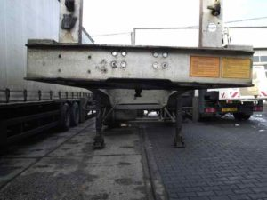 Vyrovnávanie podvozkových rámov nákladných vozidiel, áut na stolici švédskej firmy Trenčín, Žilina