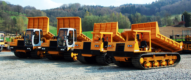 Cheap hire of track dumpers
