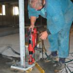 Kotvení ocelových konstrukcí