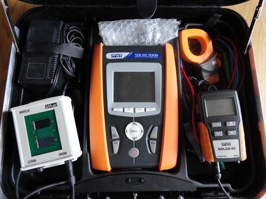 Měření a optimalizace výkonu fotovoltaických elektráren