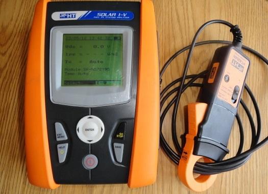 Kontrolu panelů FVE provádíme  termovizí