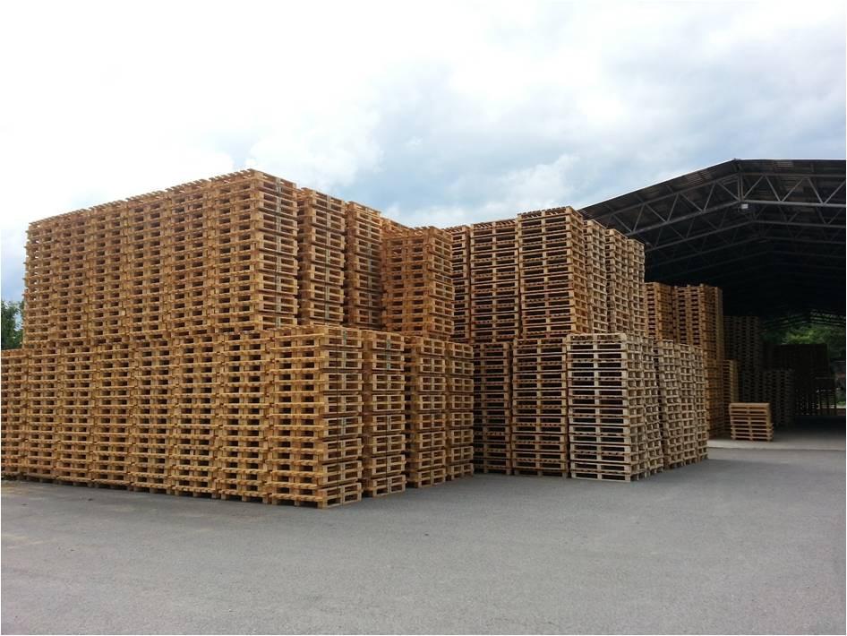 Výroba dřevěných europalet