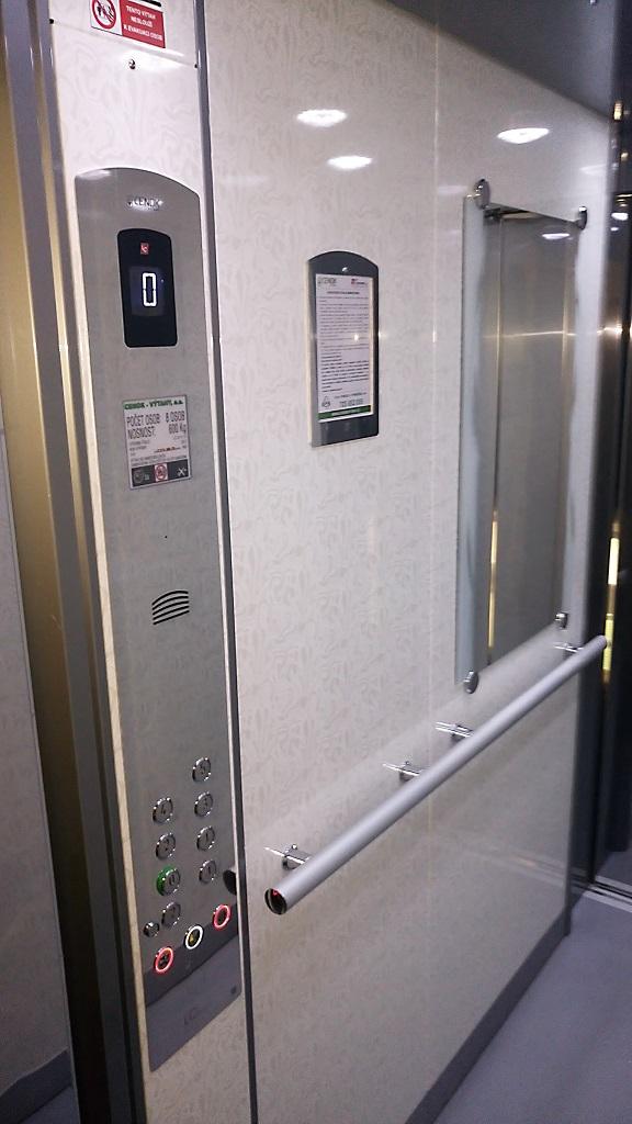 Výroba výtahu, kabina - Ostrava, Karviná