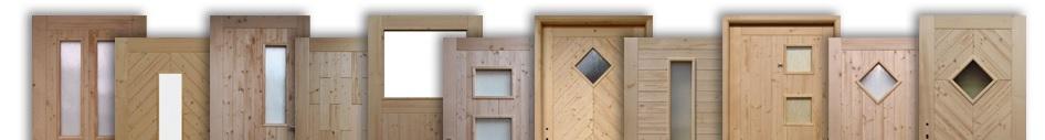 Novinka v sortimentu - palubkové dveře, dveře do zahradního domku, dvoukřídlé dveře a vrata