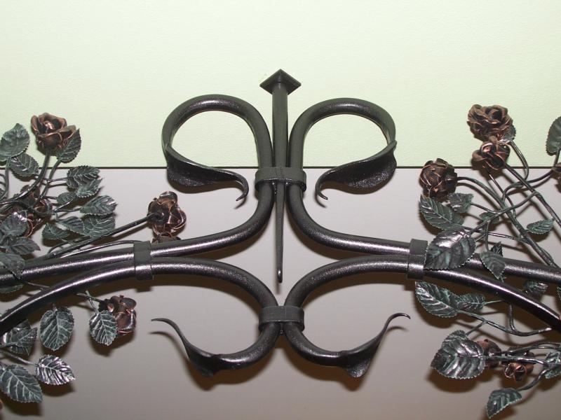 výroba kované doplňky do interiéru