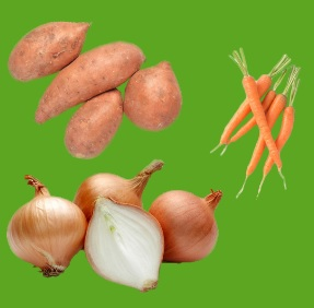 Prodej a distribuce zeleninových polotovarů - celer, cibule, mrkev, červená řepa, petržel