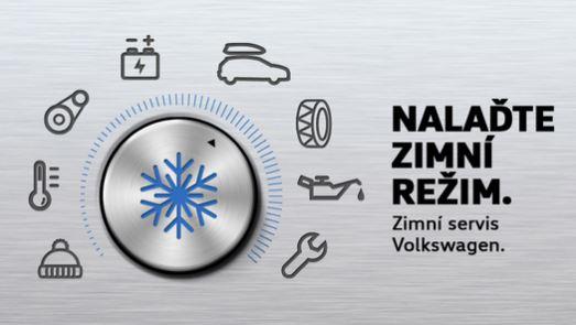 Zimní servisní prohlídka vozu Volkswagen za bezkonkurenční ceny