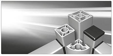 Hliníkové konstrukční stavebnicové profily s vysokou nosností