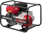 Elektrocentrály malé i velké a generátory značky Honda, Atlas Copro - prodej, servis