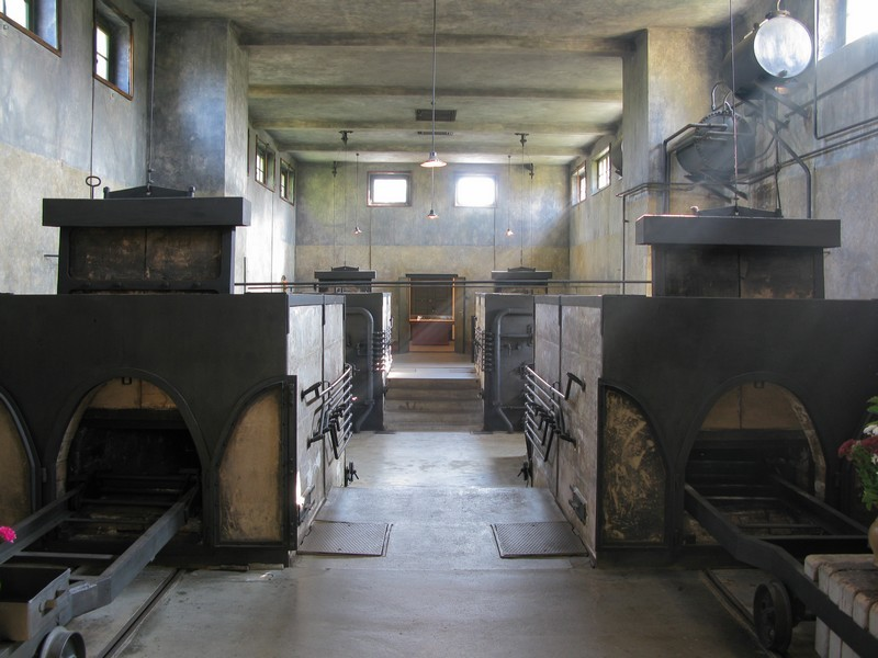 Crematorium at the Jewish cemetery Czech Republic