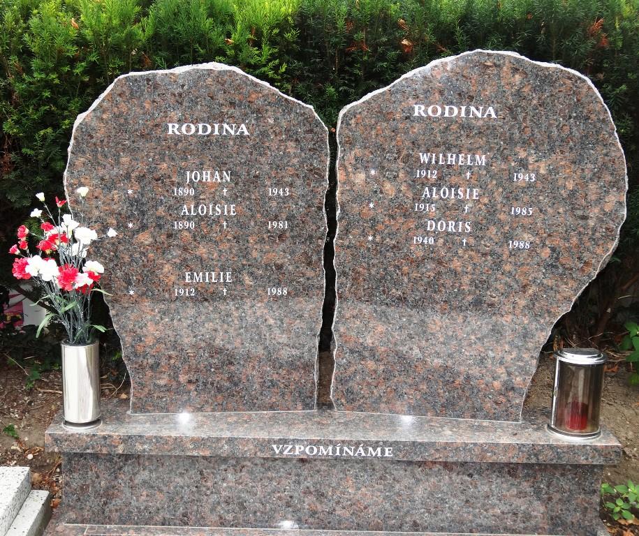 Náhrobní desky Opava - náhrobky a pomníky z kamene na míru