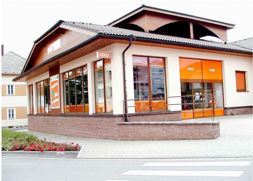 Jednota Vimperk, velkoobchod potravin, drogistického a spotřebního zboží, zásobování COOP