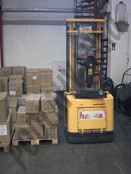 Podlahy pro skladové haly, skladové prostory