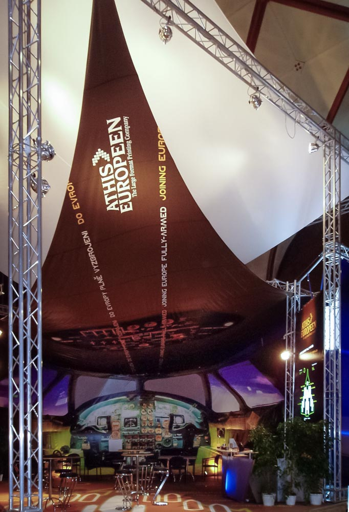 Realizace komerčních výstav, stálých expozic i různých kulturních akcí Praha