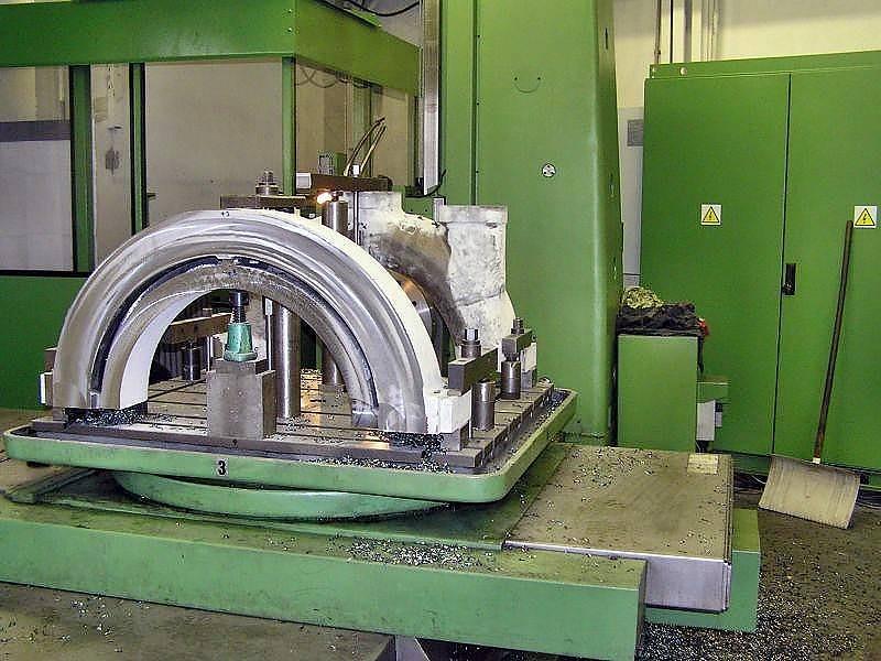 Broušení CNC stroje