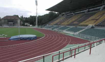 Rekonstrukce sportovních staveb včetně poradenství a zpracování studií a projektů