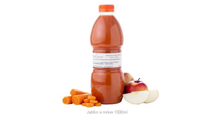 Čerstvé ovocné džusy, šťávy, mléka