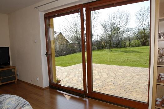 Dřevěné posuvné dveře, HS portály