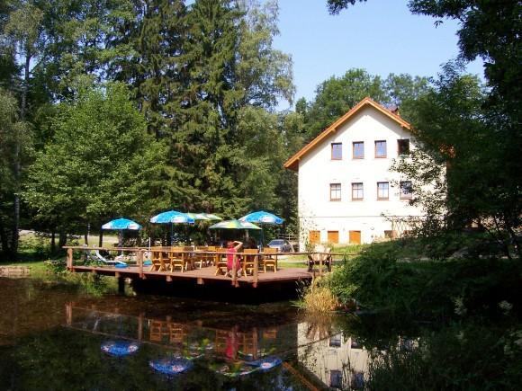 Chata Polanka Nové hrady u Skutče, ubytování, restaurace