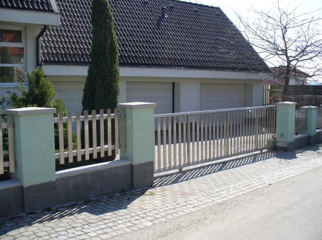 Výroba a montáž brány, plotu, markýzy, pergoly i městský mobiliář