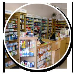 Lékárna s volně prodejnými léky i léky na předpis