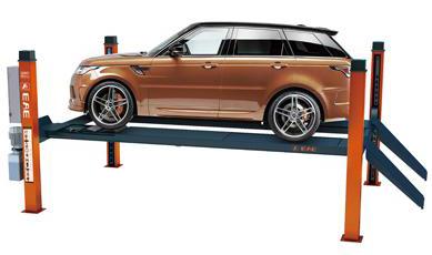 Čtyřsloupové zvedáky - dílenské elektrohydraulické autozvedáky s nosností až 8,5 tuny