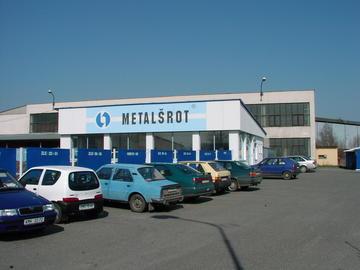 sídlo firmy - Metalšrot Tlumačov