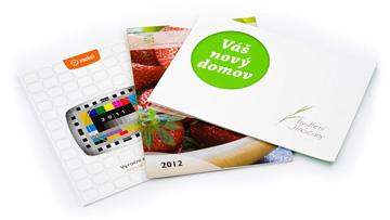 Tisk vizitek, kalendářů, prospektů