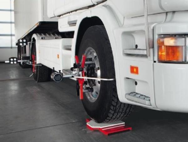 Prodej geometrie kol pro nákladní automobily