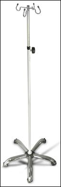 Teleskopický infuzní stojan - dodávka